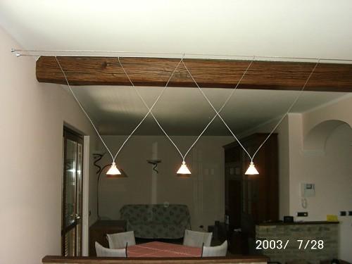 Illuminazione Con Fili D Acciaio : Forum arredamento.it u2022consiglio illuminazione cucina bagno e